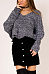 V Neck  Backless Cross Straps  Plain Sweaters