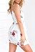 Chiffon Spaghetti Strap Floral Casual Dresses