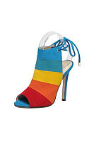 Color Block High Heels