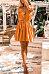 Spaghetti Strap  Backless  Belt  Plain  Sleeveless Casual Dresses