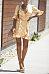 Deep V Neck  Belt  Gingham  Short Sleeve Casual Dresses