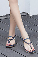 Flat  Beach  Summer  Plain  Sandals