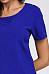 Round Neck  Cutout  Plain  Short Sleeve Casual Dresses