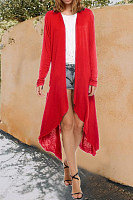Women Casual Long Cardigans