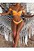 Collarless  Plain Bikini