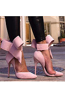 Sexy Bowknot Point-Toe Stiletto Heels