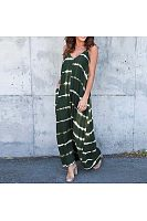 Women V Neck Beach Long Maxi Dress