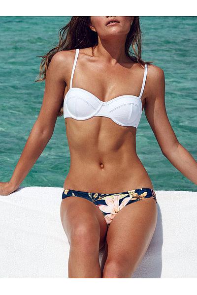 Spaghetti Strap  Plain Printed Bikini
