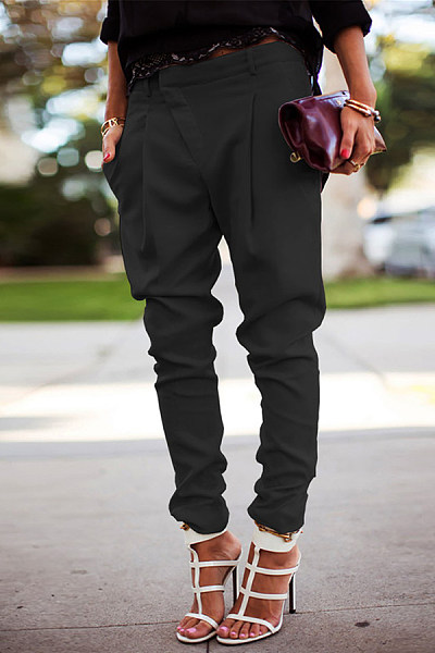 Casual High Waist Harlan Tight Pants
