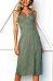 Spaghetti Strap  Single Breasted  Plain  Sleeveless Maxi Dresses