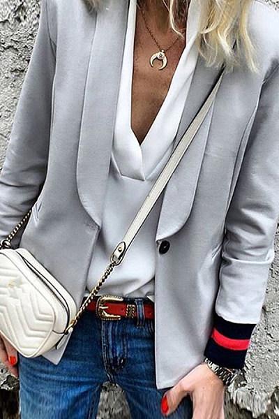 Korean Style Casual Leisure Office Blazer