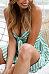 Spaghetti Strap  Bowknot  Striped  Sleeveless Skater Dresses