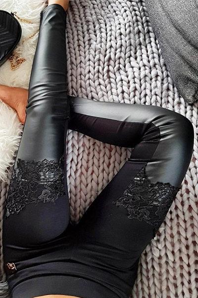 Long  Basic  Plain Leggings