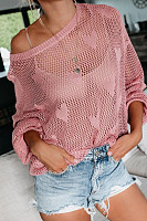 Round Neck Casual Sweater