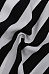 V Neck  Single Breasted  Striped  Blouses