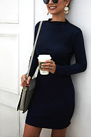 Women Plain Bodycon Dresses