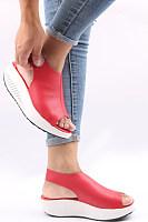 Rubber Ankle Strap Plain  Casual Sandals