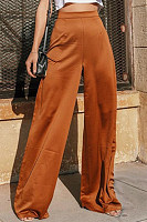 Loose Fitting  Plain Pants