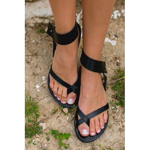Flat  Sexy Peep Toe Sandals