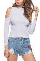 Round Neck  Knit Autumn Sweaters