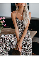 Women Casual Animal Printed Jumpsuits