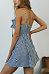 Spaghetti Strap  Bowknot Single Breasted  Sleeveless Casual Dresses