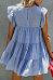Round Neck  Plain  Short Sleeve Casual Dresses