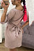 Scoop Neck  Belt  Plain  Short Sleeve Casual Dresses