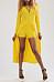 V Neck Cross Straps Plain Maxi Dress