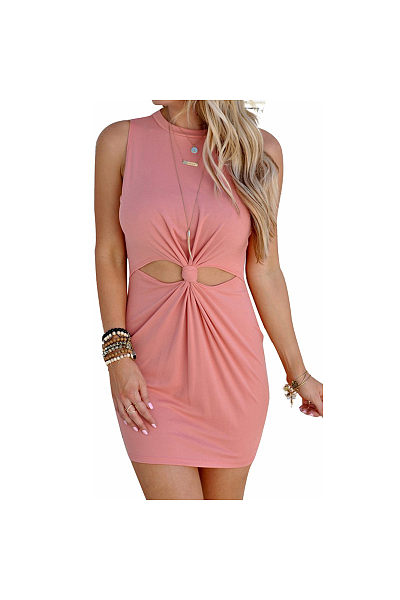 Waist Knot Bodycon Sundress
