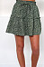 Loose Fitting  Printed Skirts