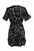 Surplice  Belt  Abstract Print  Bell Sleeve  Short Sleeve Casual Dresses
