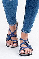 Ankle Strap Casual Round Toe Sandals