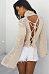Cowl Neck Batwing Sleeve Plain Knitwear