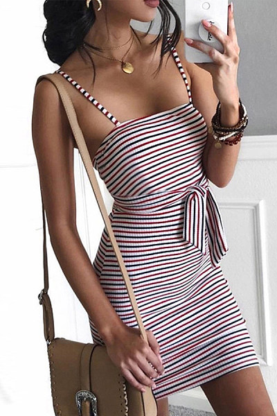 Package Buttocks Accept Waist Strapless Dress With Thin