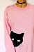 Round Neck  Print  Sweatshirts