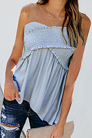 Casual Sexy Style Sleeveless T-Shirt