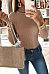 High Neck  Plain Bodysuit