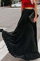 Long  Basic  Plain  Skirts