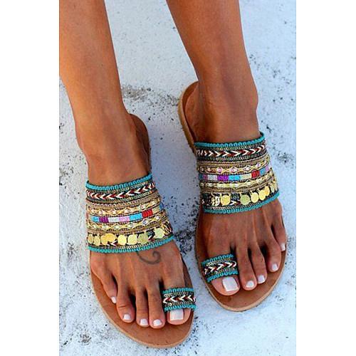 Celebrity Style Bohemian Slippers
