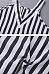 Spaghetti Strap  Asymmetric Hem  Striped  Blouses