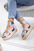 Color Block  Peep Toe  Date Travel Wedge Sandals