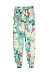 Casual Print Long Section Pants