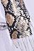 Band Collar  Animal Prints Bodysuits