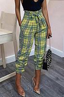 Fashion Casual Plain Pants