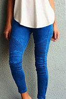 Women Plain Skinny Stretch Pants