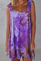 2020 Summer Tie-dye Casual Dress