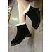 Flat  Elegant Plain  Boots
