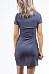 V Neck  Asymmetric Hem  Plain  Short Sleeve Bodycon Dresses