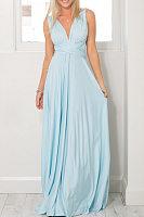 Multi- Way Plain Maxi Dresses